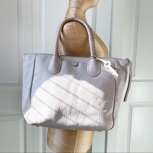 Fossil leather tote purse